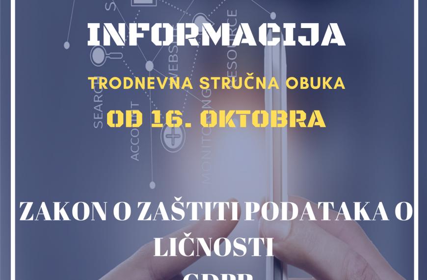 ZAŠTITA I BEZBEDNOST INFORMACIJA 18.10.2020