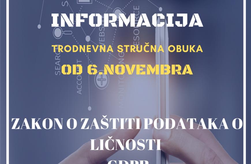ZAŠTITA I BEZBEDNOST INFORMACIJA 06.11.2020