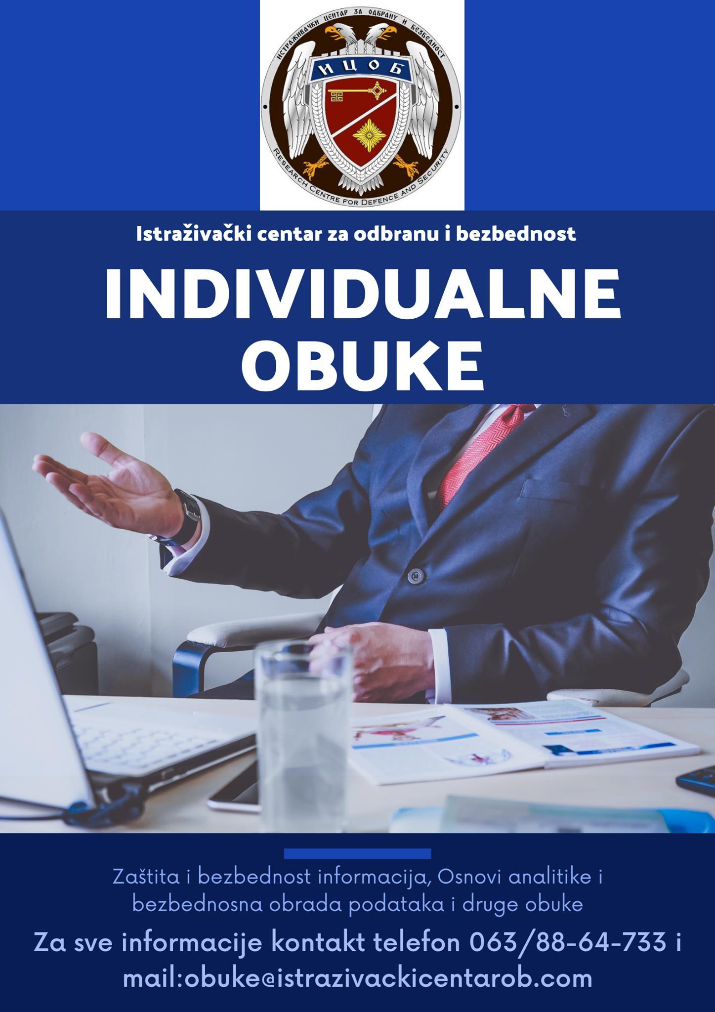 INDIVIDUALNE OBUKE
