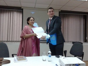 Predavanje – Gost Ambasadorka Indije Nj.E. Narinder Čauhan